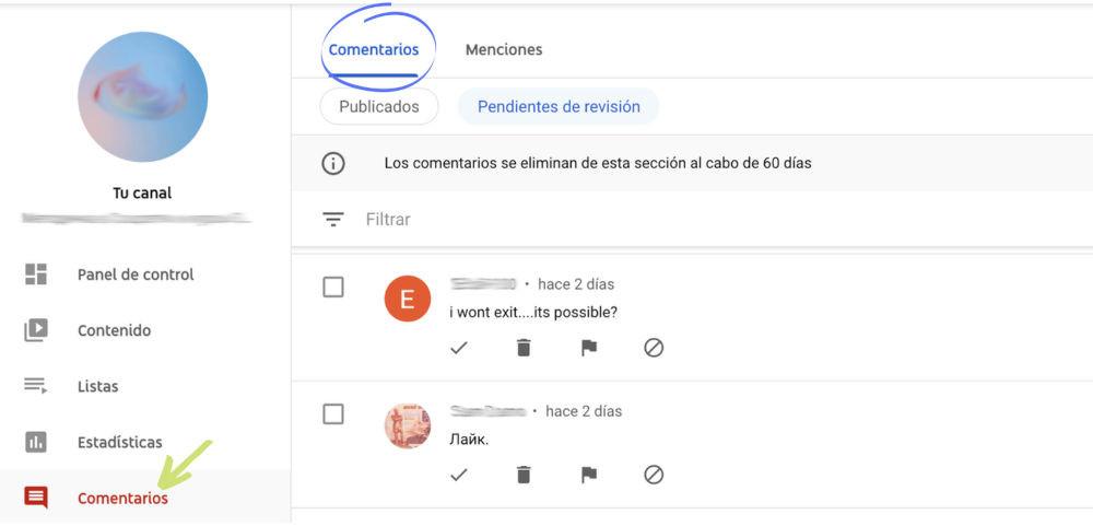 como obtener comentarios youtube gratis